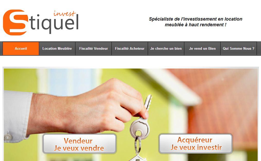stiquelinvest site internet immobilier