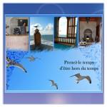 Conception d'une carte de visite pour le palais des remparts à Essaouira
